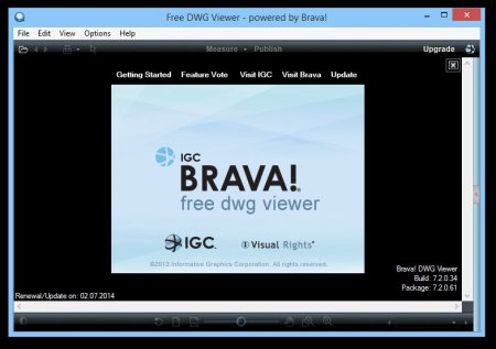 Free DWG Viewer 7.2.0.34 EN
