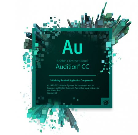 Ключ Adobe Audition CC 2014