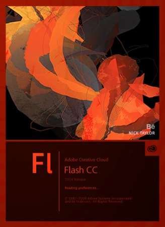 Ключ Adobe Flash CC 2014