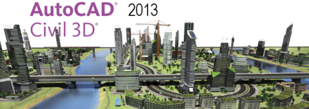 Ключ AutoCAD Civil 3D 2013