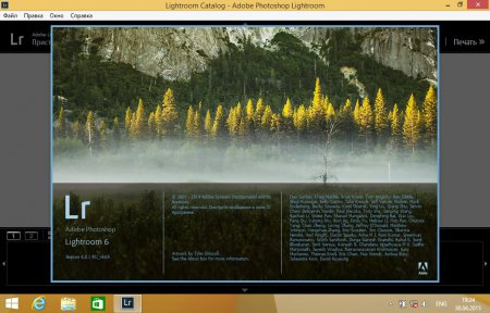 Adobe Photoshop Lightroom 6.0.1