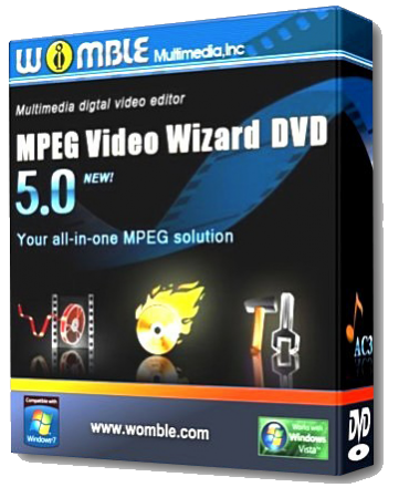 Womble MPEG Video Wizard DVD v5.0.1.111