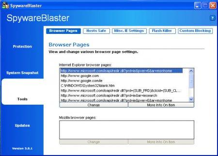 SpywareBlaster 5.2