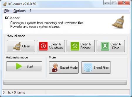 KCleaner 2.6.0.62
